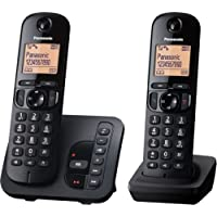 "Panasonic KX-TGC222GB Schnurlostelefon mit ""AB KX-TGC222"" schwarz"