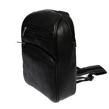 dfaa23665dae4 Christian Wippermann hochwertiger Damen Rucksack aus Leder in schwarz