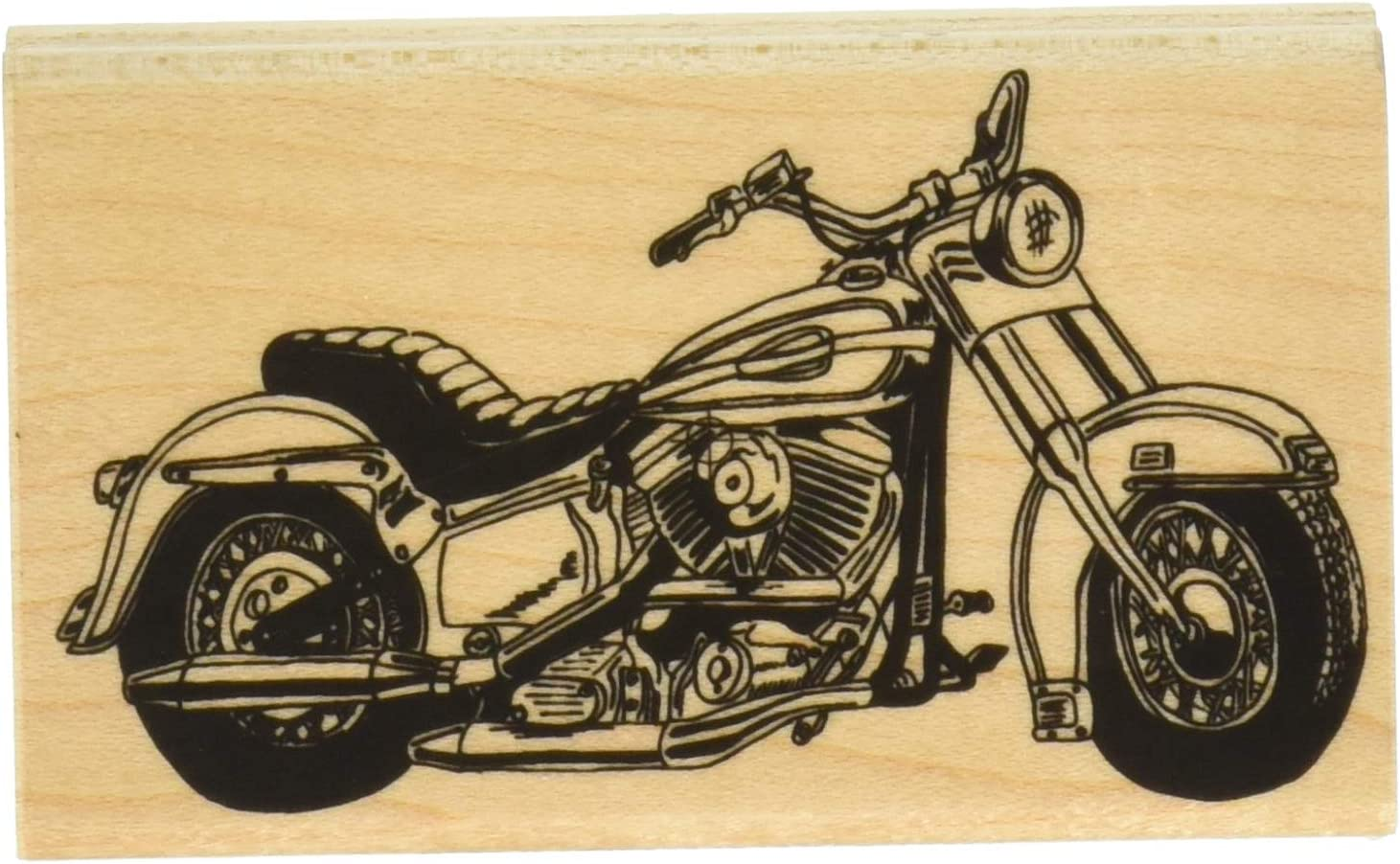 Stamps by Impression Motorcycle Rubber Stamp