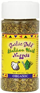 Garlic Gold Organic Nuggets, Italian Herb, 1.6 Ounce (Pack 2)