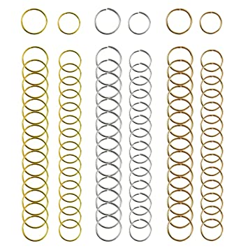 amazon com nydotd 180 pieces hair rings braid rings hair loop