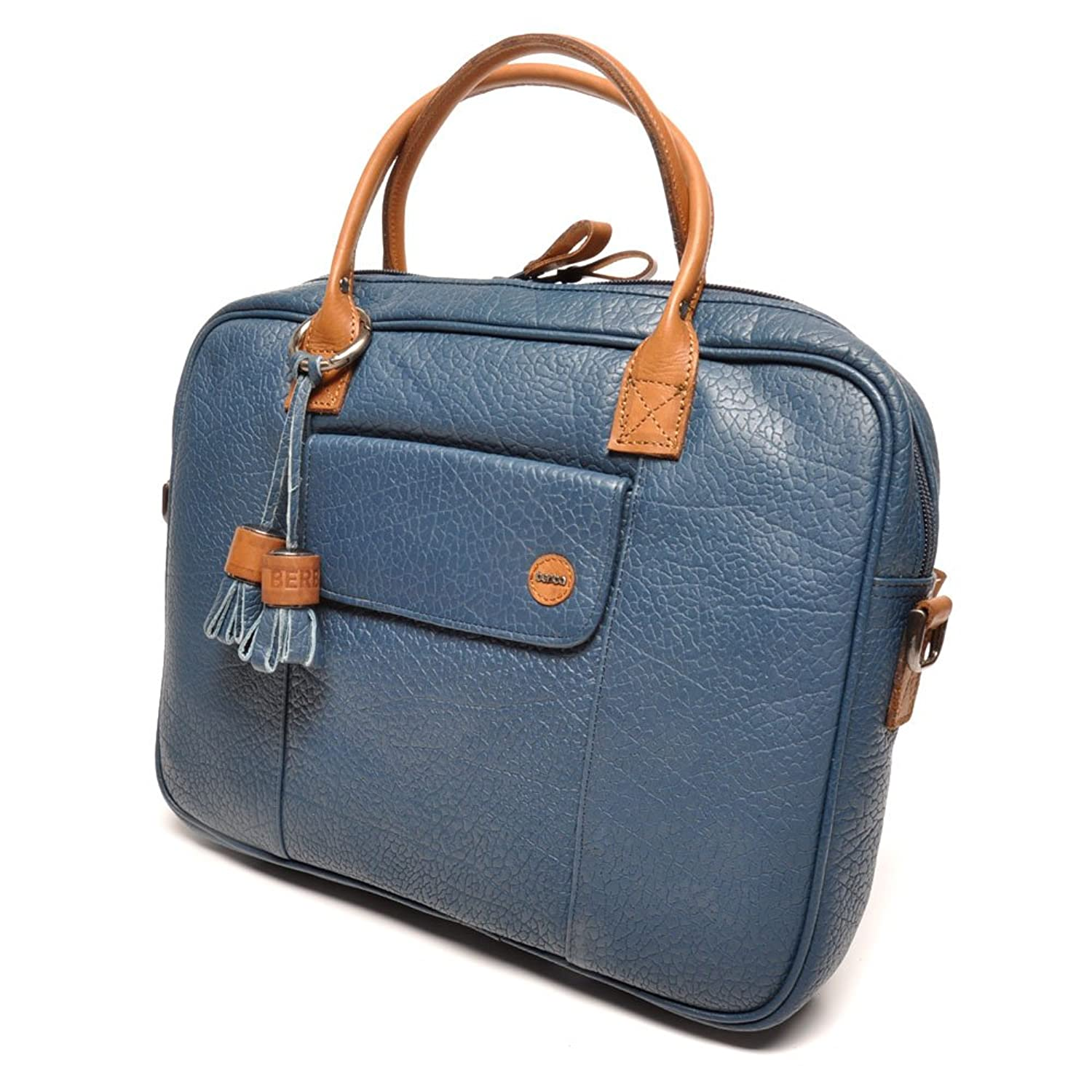 berba Chamonix 988 Business satchel in blue