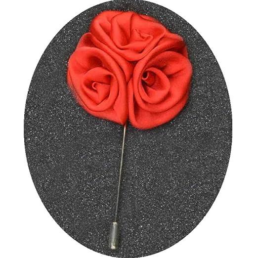 Distinct® Rose broches Pin para los Hombres de Negocios Trajes ...