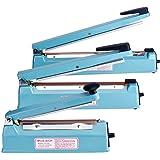 Fuxury 8 Inches Impulse Heat Sealer Machine for Bag Heat Seal Packing, Manual Plastic Bags Sealer for Sealing Foods & Meal, H