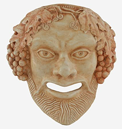 "Mask of Bacchus ""the liberator"" ..."