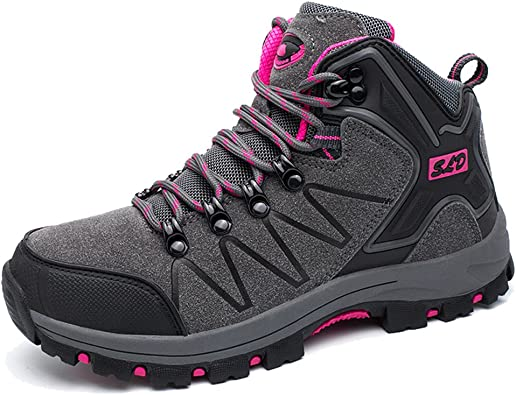 TUCSSON Botas de Senderismo Impermeables para Hombre Mujeres,de ocio al Aire Libre Zapatos de Deporte Zapatillas de Senderismo