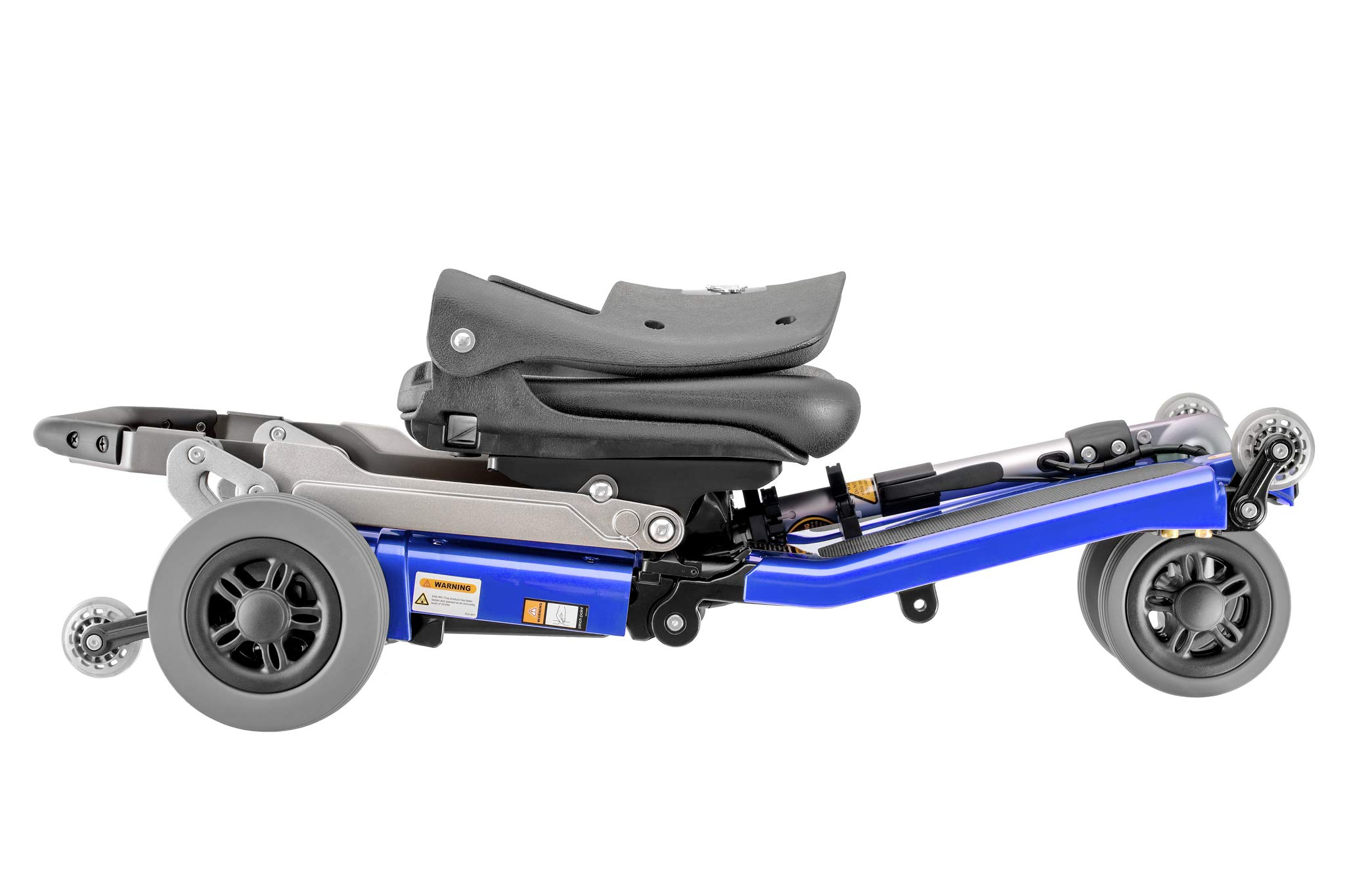 FreeRider USA Luggie Standard -Folding Mobility Scooter with Lithium-ion Battery for Adults and Seniors, Portable, Lightweight, Airline Approved, Blue by FreeRider USA