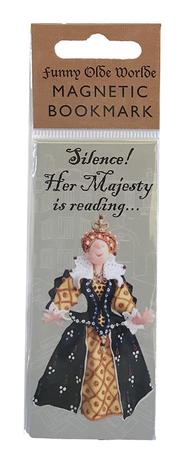Segnalibro magnetico Historical character by Holy Mackerel Made in UK William Shakespeare