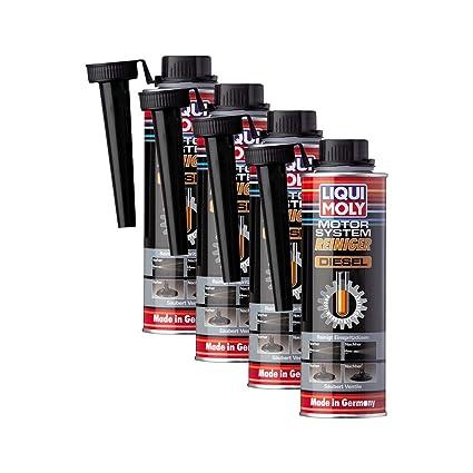 Liqui Moly 4X 5128 Motor-System-Reiniger Diesel Additiv 300ml