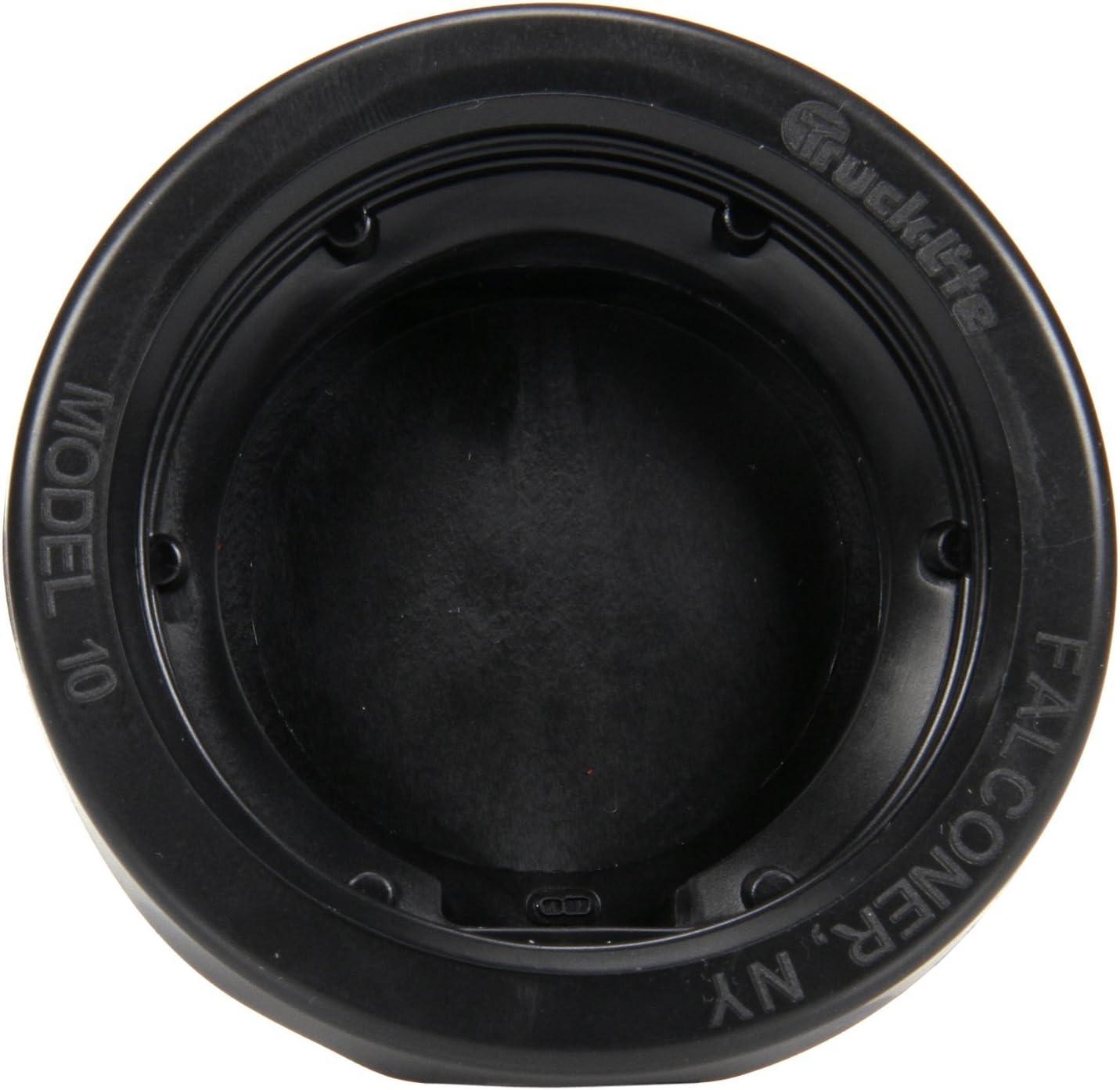 Truck-Lite Black PVC Oval Open Back Grommet