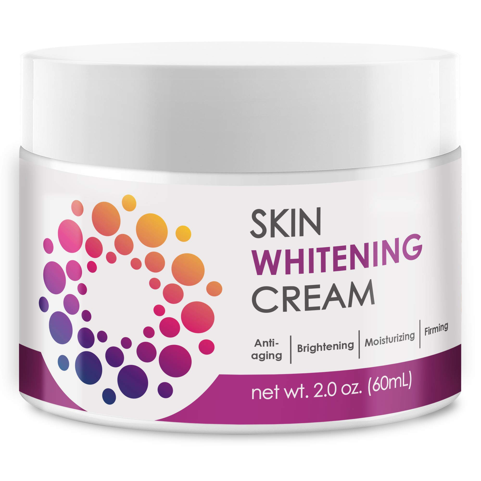 ACTIVSCIENCE Whitening Cream - Powerful Skin Lightening Cream for Face & Body. Dark Spot, Melasma & Hyperpigmentation Treatment. 2 fl oz.