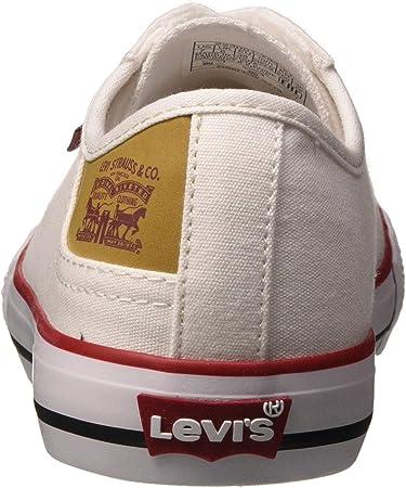 LEVIS FOOTWEAR AND ACCESSORIES Stan Buck, Bajos para Hombre, Blanco (Blanc), 42 EU