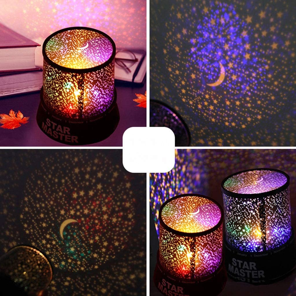 ☻XK Cosmos Star Projector Romantic LED Starry Night Sky Projector ...
