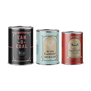 casual panache gifts of gab bah humbug sarcastic christmas gift christmas gift cans
