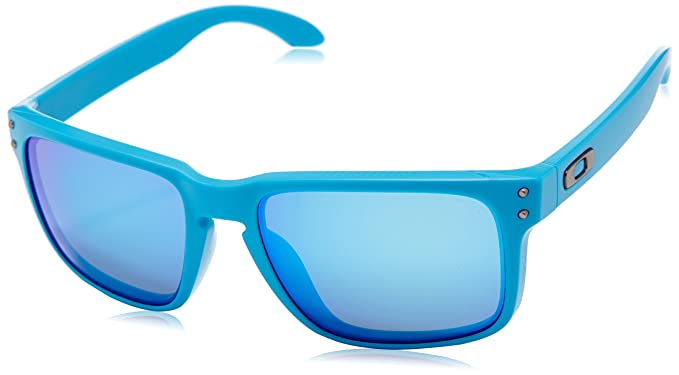 60bc1d9f69d Image Unavailable. Image not available for. Colour  Oakley Sunglasses  Holbrook OO9102-73 Matte Sky Sapphire Iridium