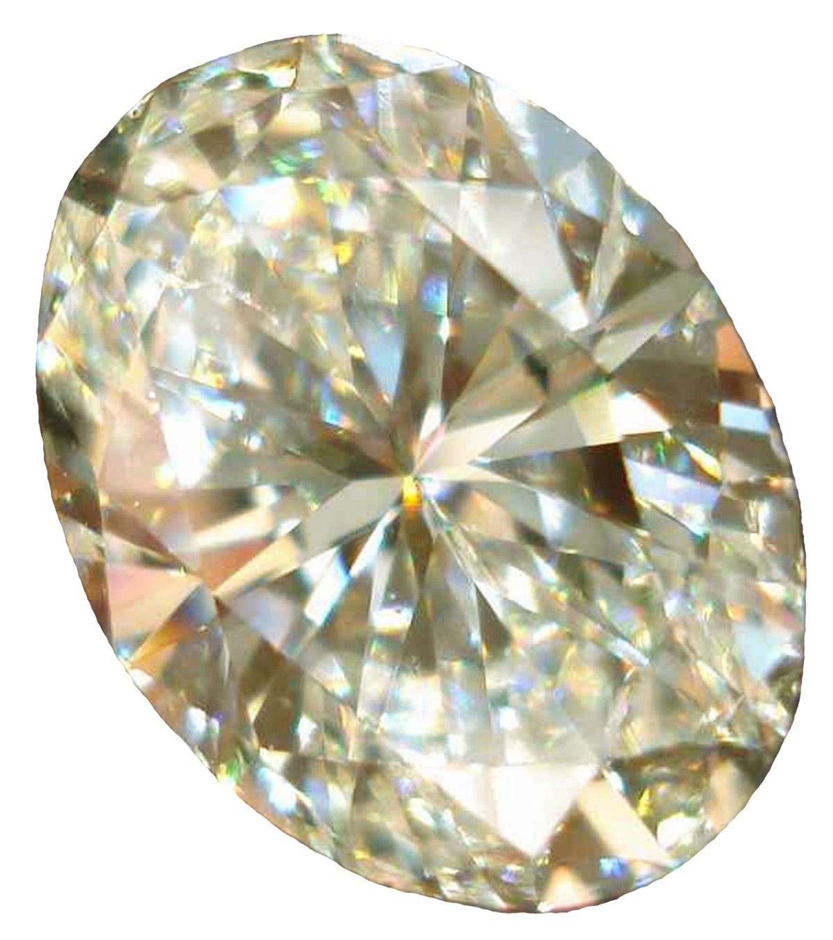 RINGJEWEL 6.66 CT VVS1 Loose Moissanite Oval-Cut Use 4 Pendant/Ring Off White Color Stone