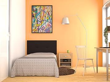Cabecero de cama tapizado acolchado juvenil Julie 115 x 55 cms. Para camas de 80