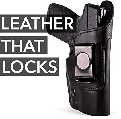 """MOB Middle Of the Back IWB Right Hand Leather Holster Fits S/&W M2.0 3.6/"""" COMPACT"""
