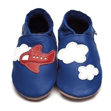 sports shoes a4063 1d0eb Inch Blue Babyschuhe Lauflernschuhe Krabbelschuhe aus Leder ...