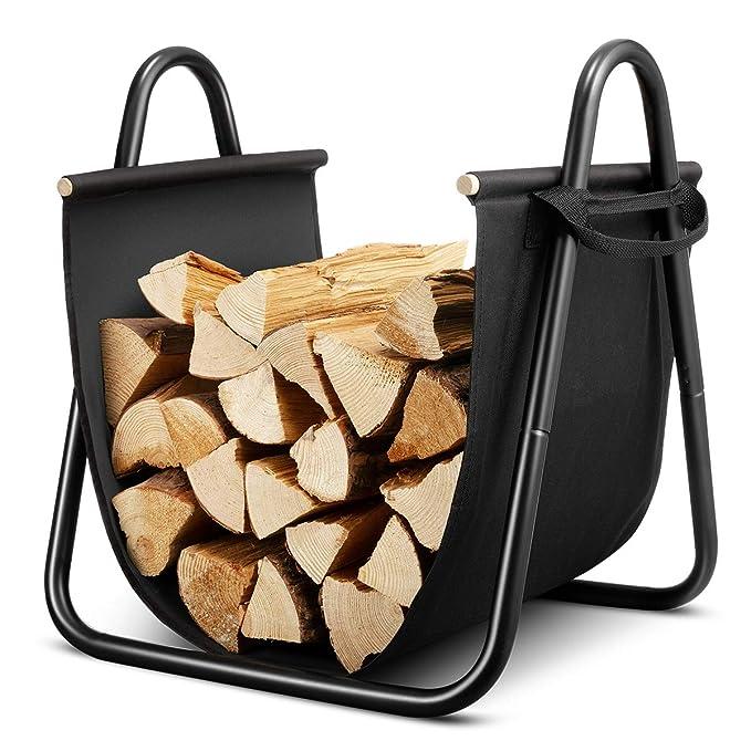 Amazon.com: DOEWORKS - Portabebés de madera de leña con ...