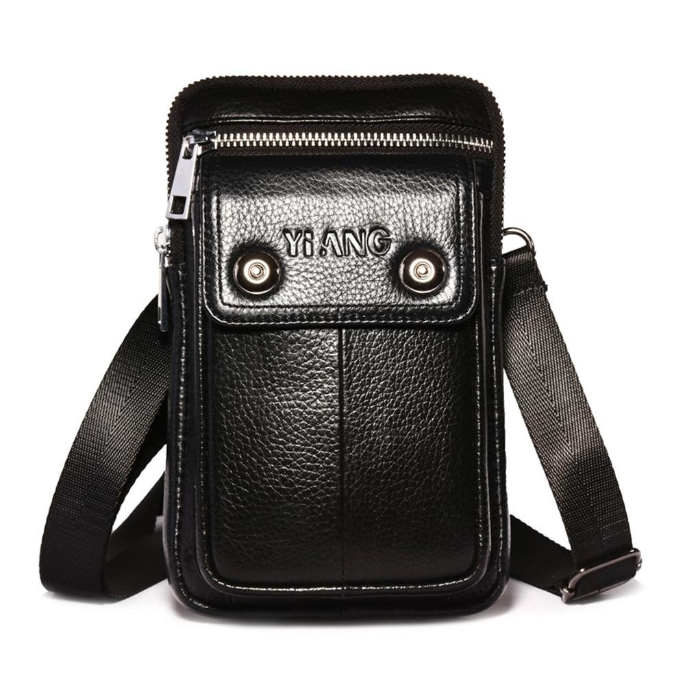 84f519f7e4b5 best AOLVO Small Crossbody Bags for Men