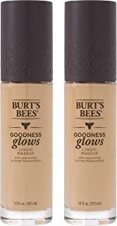 product image for Burts Bees Goodness Glows Liquid Makeup, Linen Beige - 1.0 Ounce (Pack of 2)