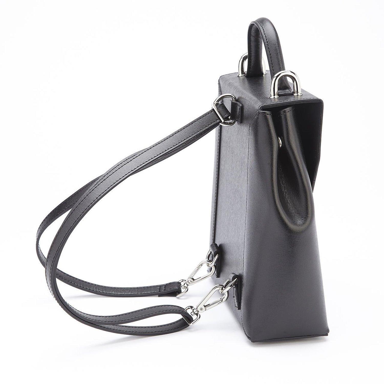 Amazon.com: Royce Leather RFID Convertible Backpack Handbag in ...