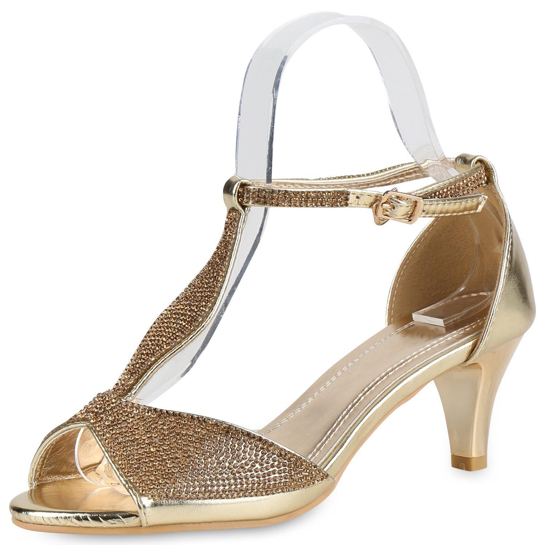 napoli-fashion , 19212 Sandales Bout ouvert Bout B01BKG0G06 femme Gold Glitzer Shiny 1f3af06 - boatplans.space