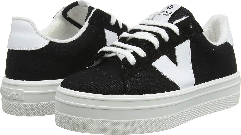 Zapatillas Victoria 1092125 Negro