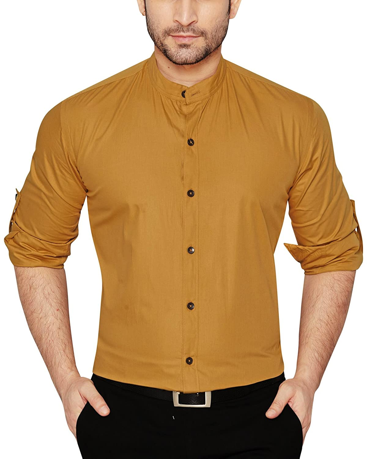 Global Rang Men's Cotton Casual Shirt