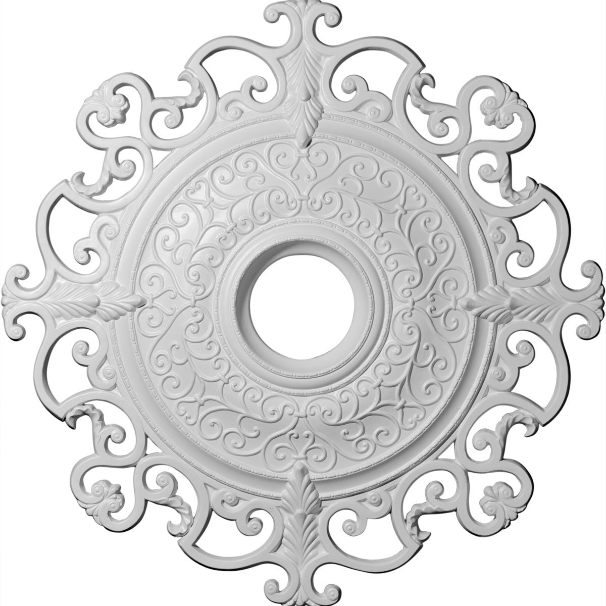 Orleans 38.38'' H x 38 3/8'' W x Ceiling Medallion by Ekena Millwork