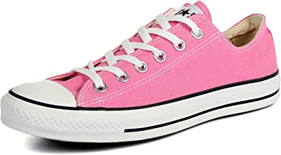 Converse Chuck Taylor All Star Shoes (M9007) Low Top in Pink, 6.5 D(M) US Mens 8.5 B(M) US Womens, Pink
