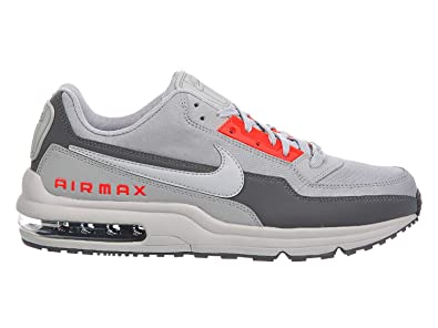 1664c5a64aeae Image Unavailable. Image not available for. Color  Nike Mens Air Max LTD 3 Wolf  Grey Bright Crimson Dark ...