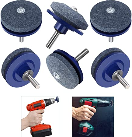 New Lawn Mower Blade Sharpener For Power Drill Hand Drill Tool New In Pack
