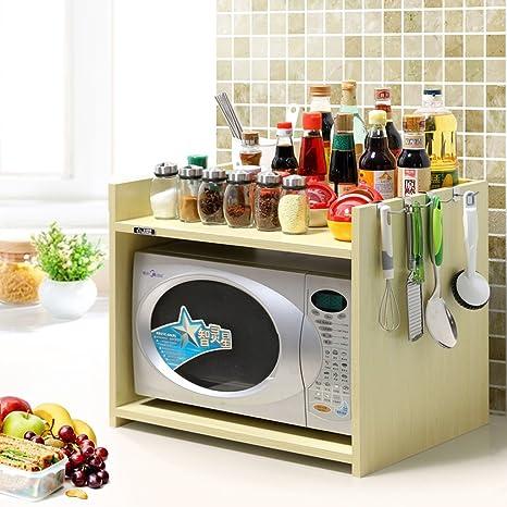 Amazon.com: Estantería de almacenamiento de cocina para ...