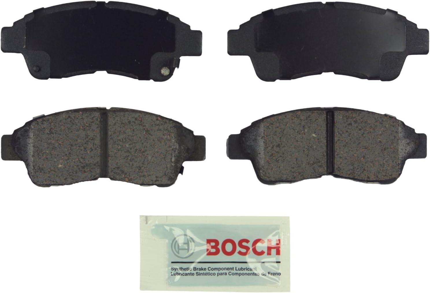 Bosch BC562 QuietCast Premium Ceramic Disc Brake Pad Set For: Geo Prizm; Toyota Camry Celica Corolla Front RAV4