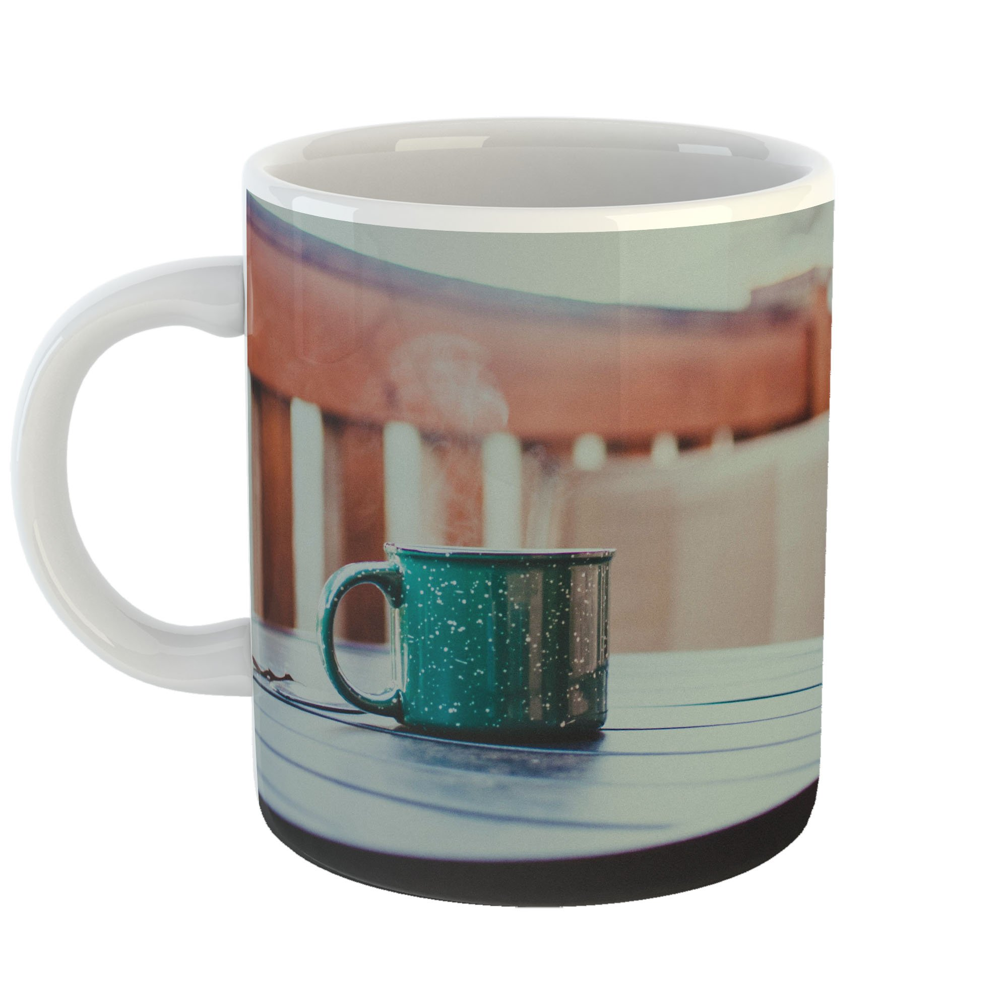 Westlake Art - Motel Hotel - 11oz Coffee Cup Mug - Modern Picture Photography Artwork Home Office Birthday Gift - 11 Ounce (2154-3DD3B)