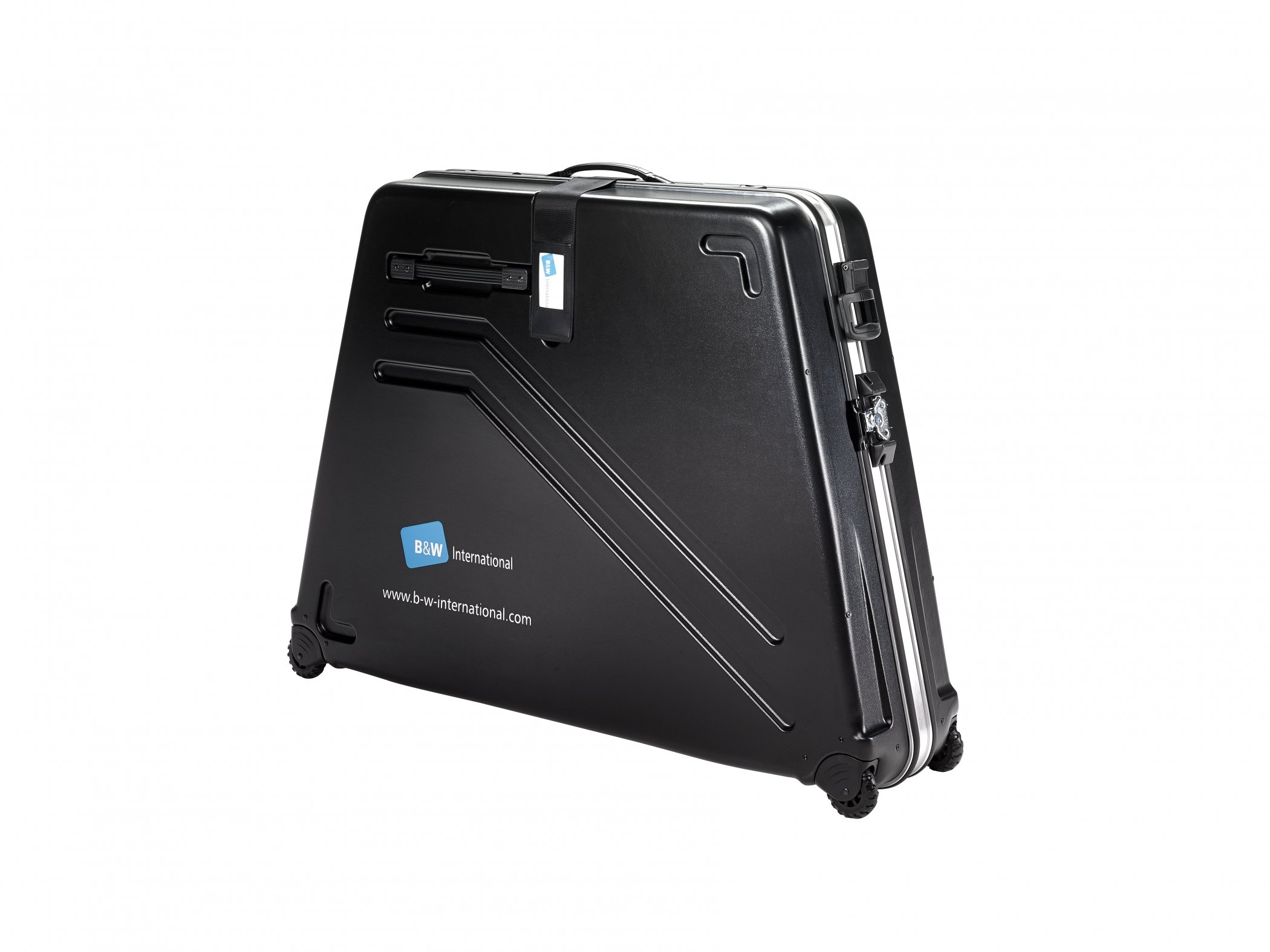 B&W Wheeled Bicycle Bike Box Travel Case 9.9kg light-weight