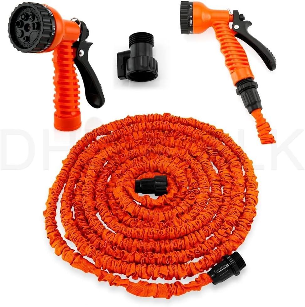 25//50//75//100 FT Expandable Flexible Garden Water Hose Expanding w//Spray Nozzle