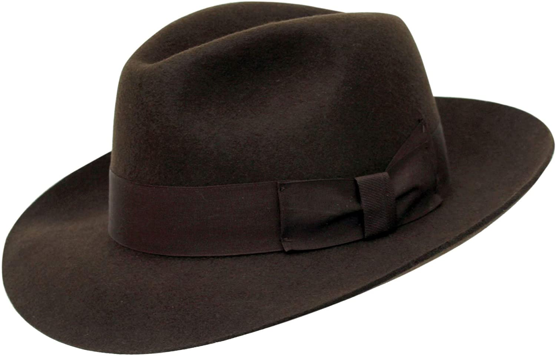 Chapeau Haut de Forme Rouge Laine Feutre Satin Doublé Qualité 4 Tailles Rapide Post 1st Classe