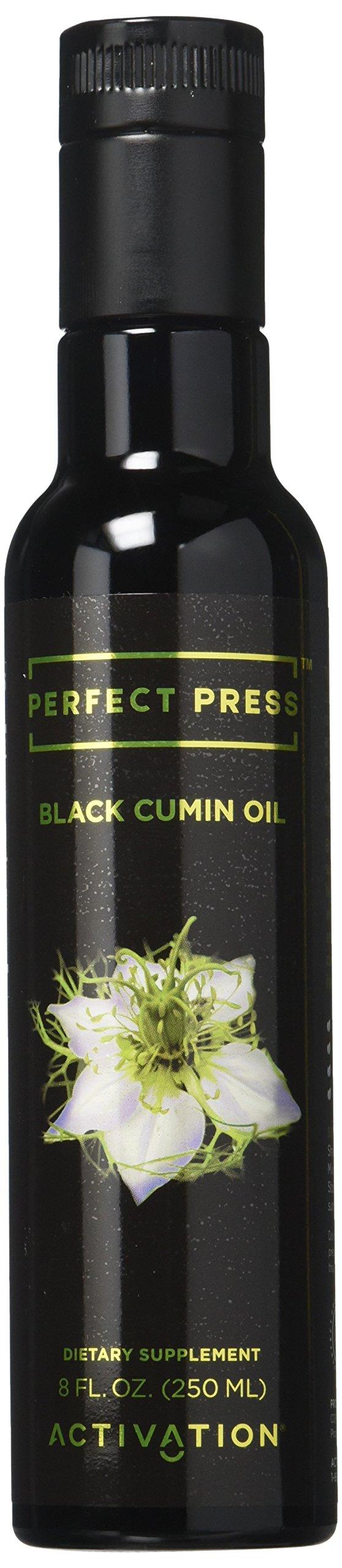 Perfect Press, Black Cumin Seed Oil, Nigella Sativa, Immune System Booster, Vitamins B1, B2, B3, Digestive Support, Vegan, Organic, Gluten Free, 250 Milliliter