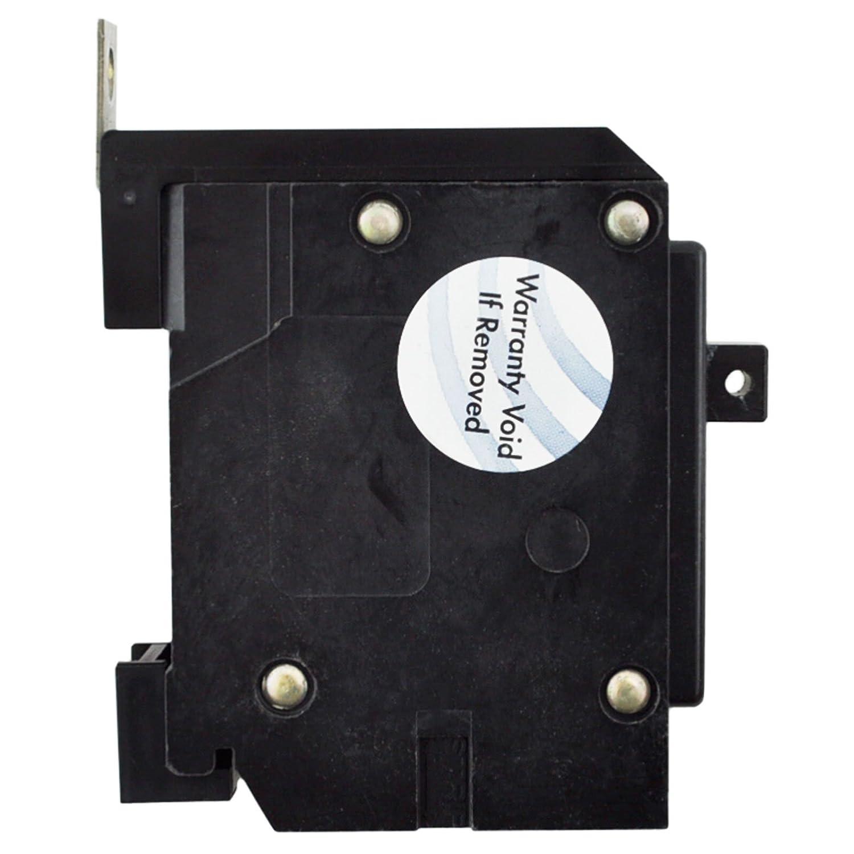 Eaton GHQ1020 Bolt-On Mount Type GHQ Molded Case Circuit Breaker 1-Pole 20 Amp 277 Volt AC