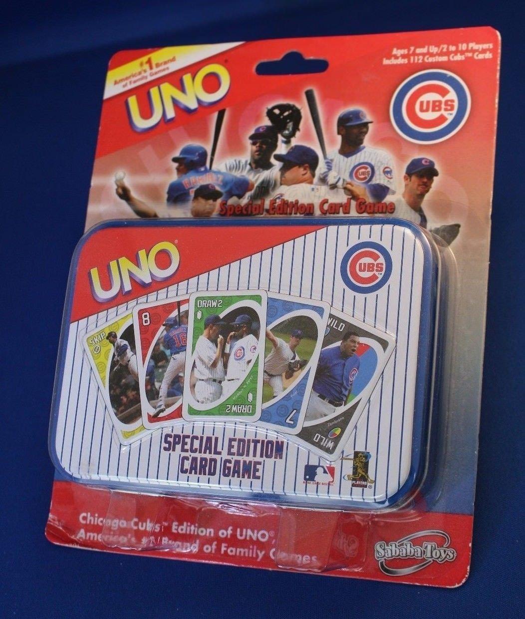 Amazon.com: Juego de cartas oficial MLB Chicago Cubs Edition ...