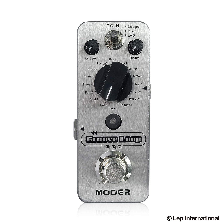 Mooer Groove Loop ギターエフェクター   B07G496Y6W