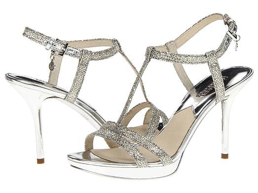 Women's Yvonne Platform Silver Size 10