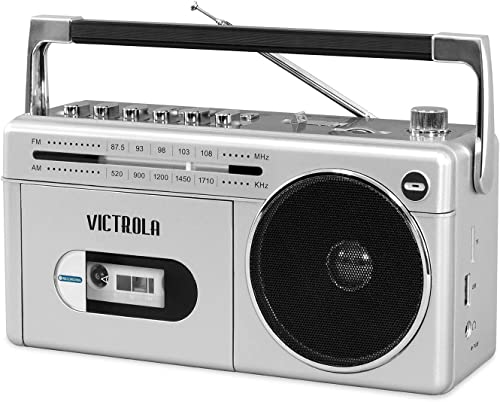Victrola Mini Bluetooth Boombox with Cassette Player review