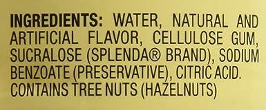 Da Vinci Sugar Free Original Hazelnut Syrup 25.4 oz: Amazon.es: Alimentación y bebidas