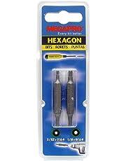 Megapro 9BP-HX-2A Replacement Bit Packs, HD3/32-7/64, HD1/8-9/64