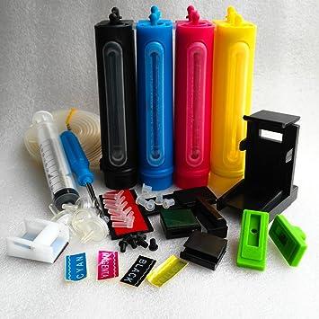 4100 ml Vol sistema de suministro de tinta continua CISS Kit ...