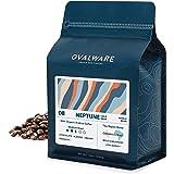 OVALWARE 08 Neptune - Cold Brew, Organic Medium Roast Whole Coffee Bean, Colombia and Brazil Blend (1lb / 16oz)